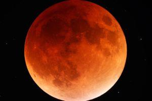 Повне місячне затемнення 31 січня 2018 року