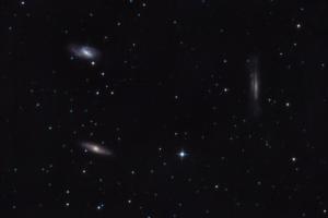 Триплет Лева (10.03.2018) – в сузір'ї Лева