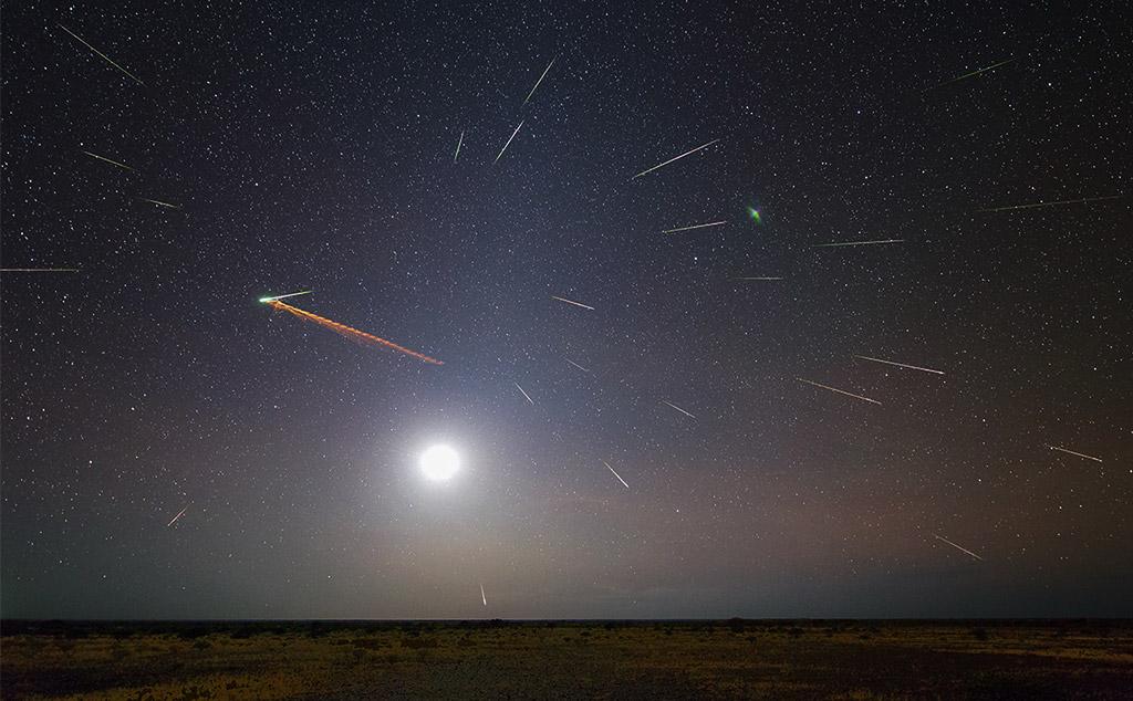 Метеорний потік Ета-Аквариди 6 травня 2018 року