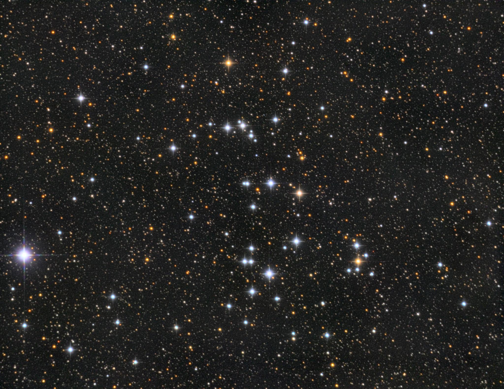 NGC 6633 — розсіяне скупчення у сузір'ї Змієносець.