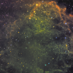 IC 443 або Туманність Медуза – залишок наднової у сузір'ї Близнята