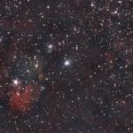 NGC 6595/NGC 6589/NGC 6590/ IC 1284 – Комплекс об'єктів у Стрільці