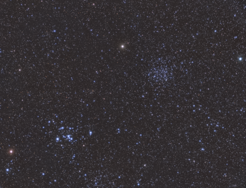Messier 47 and Messier 46