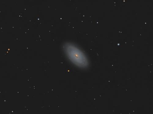 Галактика М64