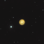 Туманність Ескімос (інші позначки NGC 2392, Лице Клоуна) — планетарна туманність у сузір'ї Близнята.