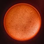 Сонце в лінії водню (H-alpha) – 10.03.2020