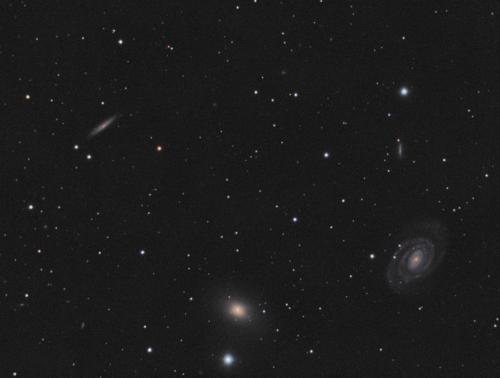 Група галактик у Діві