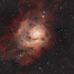 Туманність Лагуна (М8) – туманність сузір'ї Стрільця.